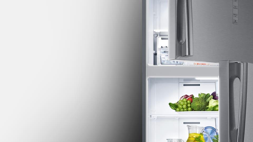 לראות בבהירות את תוכן המקרר